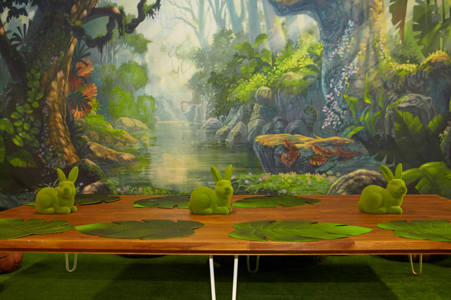 Enchanted Forest Furniture and backdrop Hire Melbourne