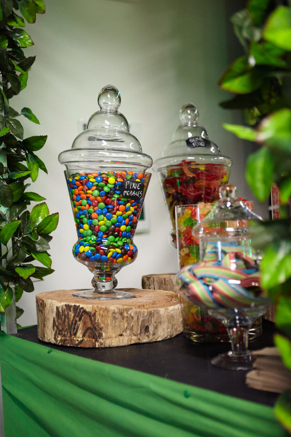 Enchanted Forest Theme - Candy Buffet Hire