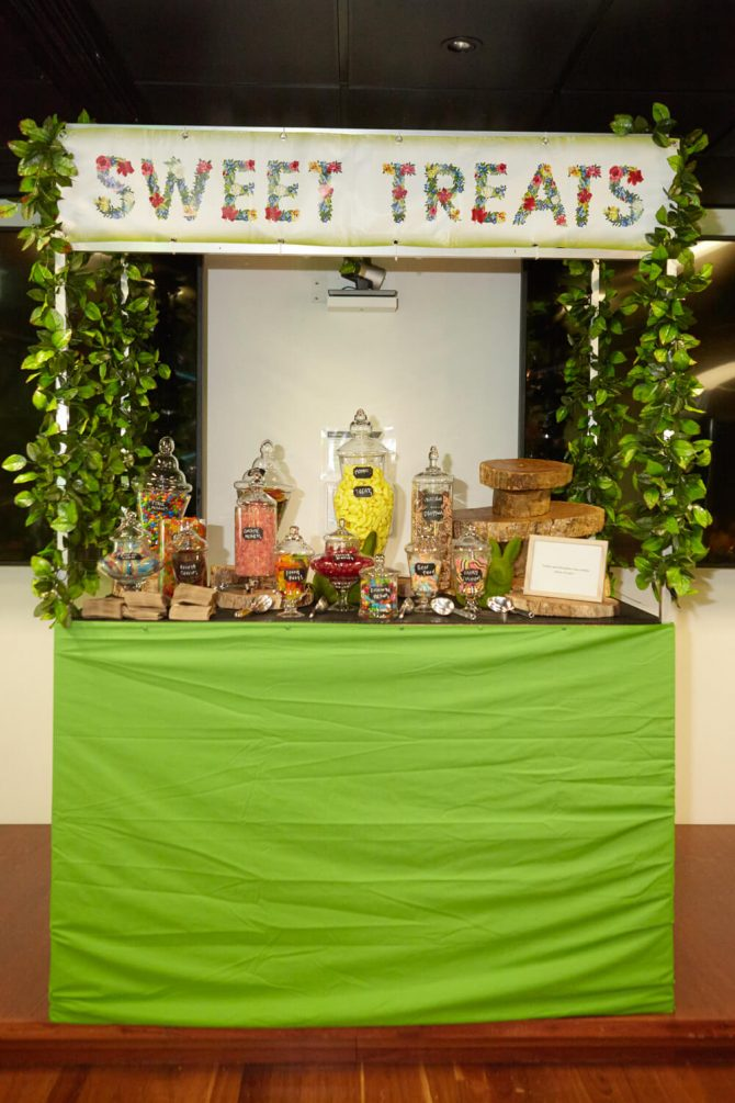 Food Station Enchanted Forest Hire