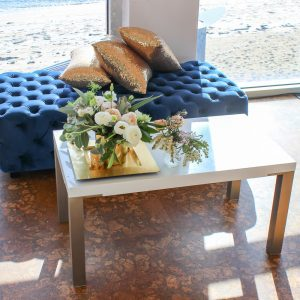 White Table Hire with Styling Products Melbourne