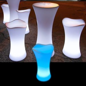 Illuminated Bar Stool glow furniture seating hire melbourne