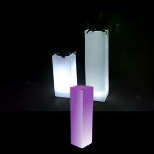 Illiminated Plnith glow furniture hire melbourne