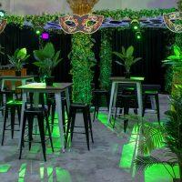 masquerade jungle theme hire melbourne