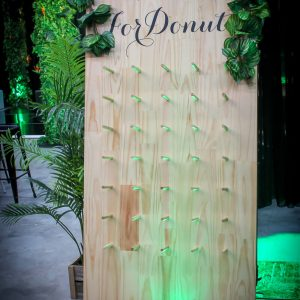 vine covered donut wall hire melbourne