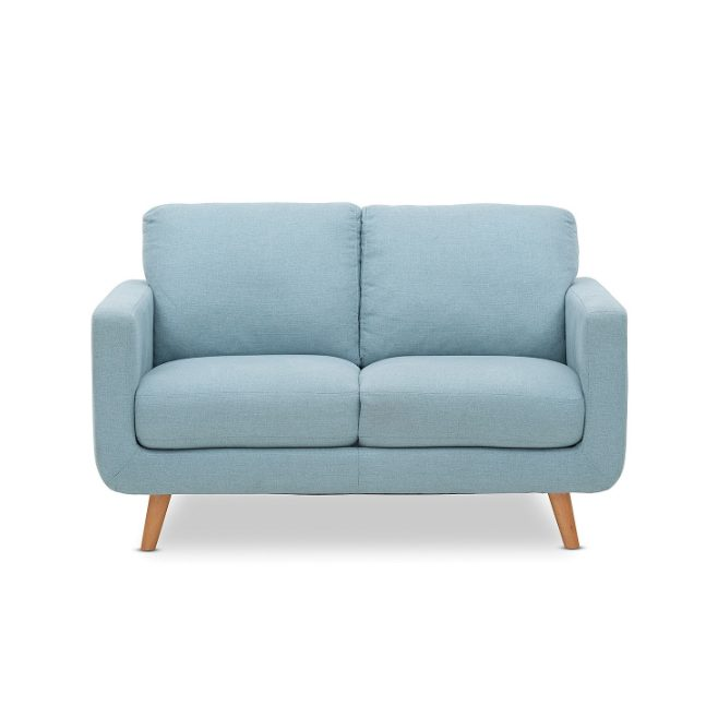 Jordan 2 Seater Sofa Hire Melbourne - Blue - Feel Good Events