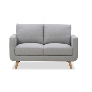 Jordan 2 Seater Sofa Hire Melbourne - Grey - Feel Good Events