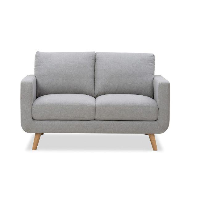 Jordan 2 Seater Sofa Hire Melbourne - Grey - Feel Good Events