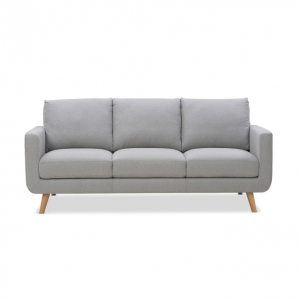 Jordan 3 Seater Sofa Hire Melbourne - Grey - Feel Good Events