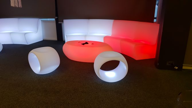 red_and_white_glow_furniture_hire_melbourne