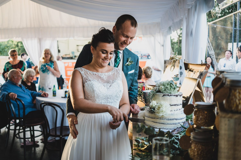 Danni and Dane's wedding