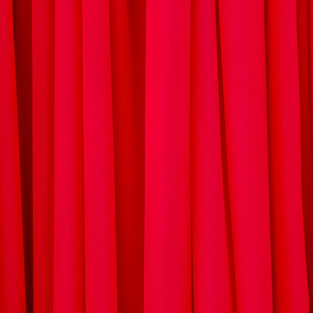 Chiffon Drape Hire Melbourne - Red