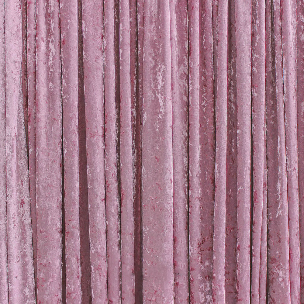 Crushed Velvet Dusty Pink Drape Hire Melbourne