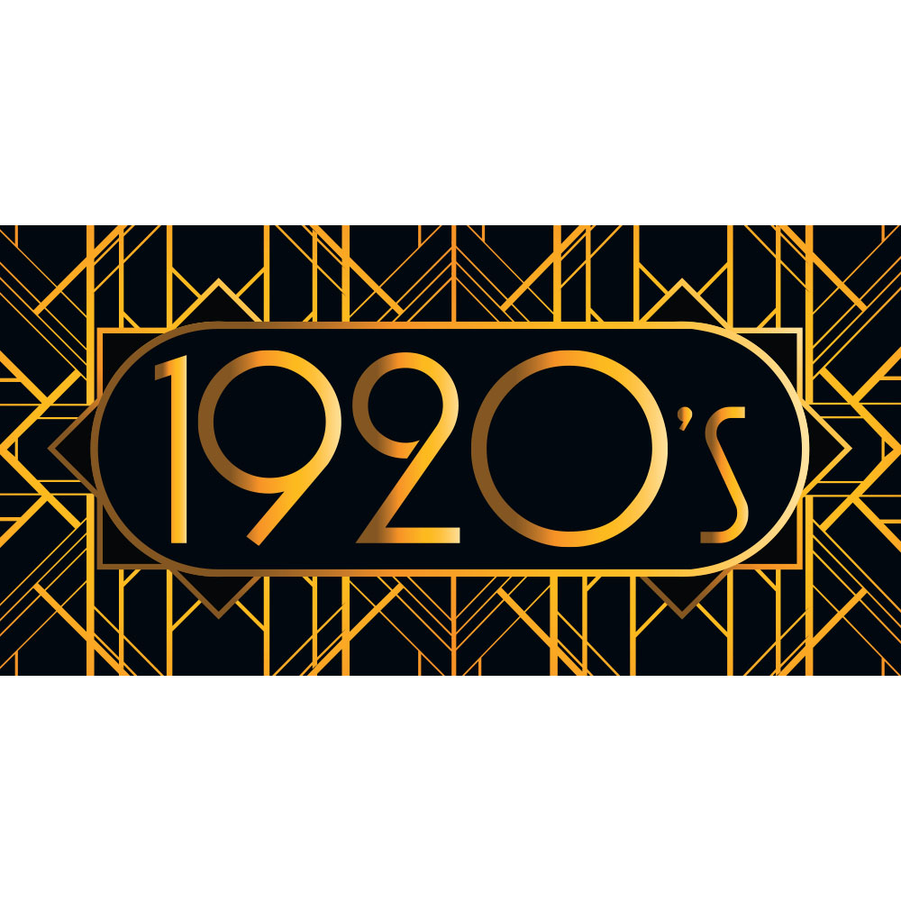 Large 1920s Great Gatsby Backdrop Hire Melbourne