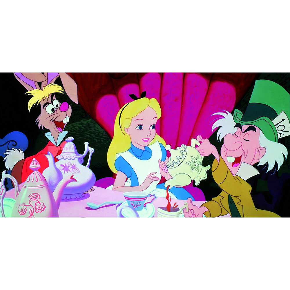 Large Alice In Wonderland Backdrop Hire Melbourne