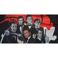 Large Bond Men Backdrop Hire Melbourne