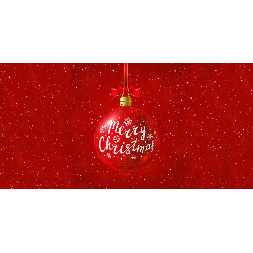 Large Merry Christmas Backdrop Hire Melbourne