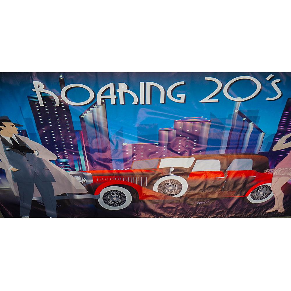 Large Roaring 20s Backdrop Hire Melbourne