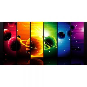 Large Space and Planets Backdrop Hire Melbourne