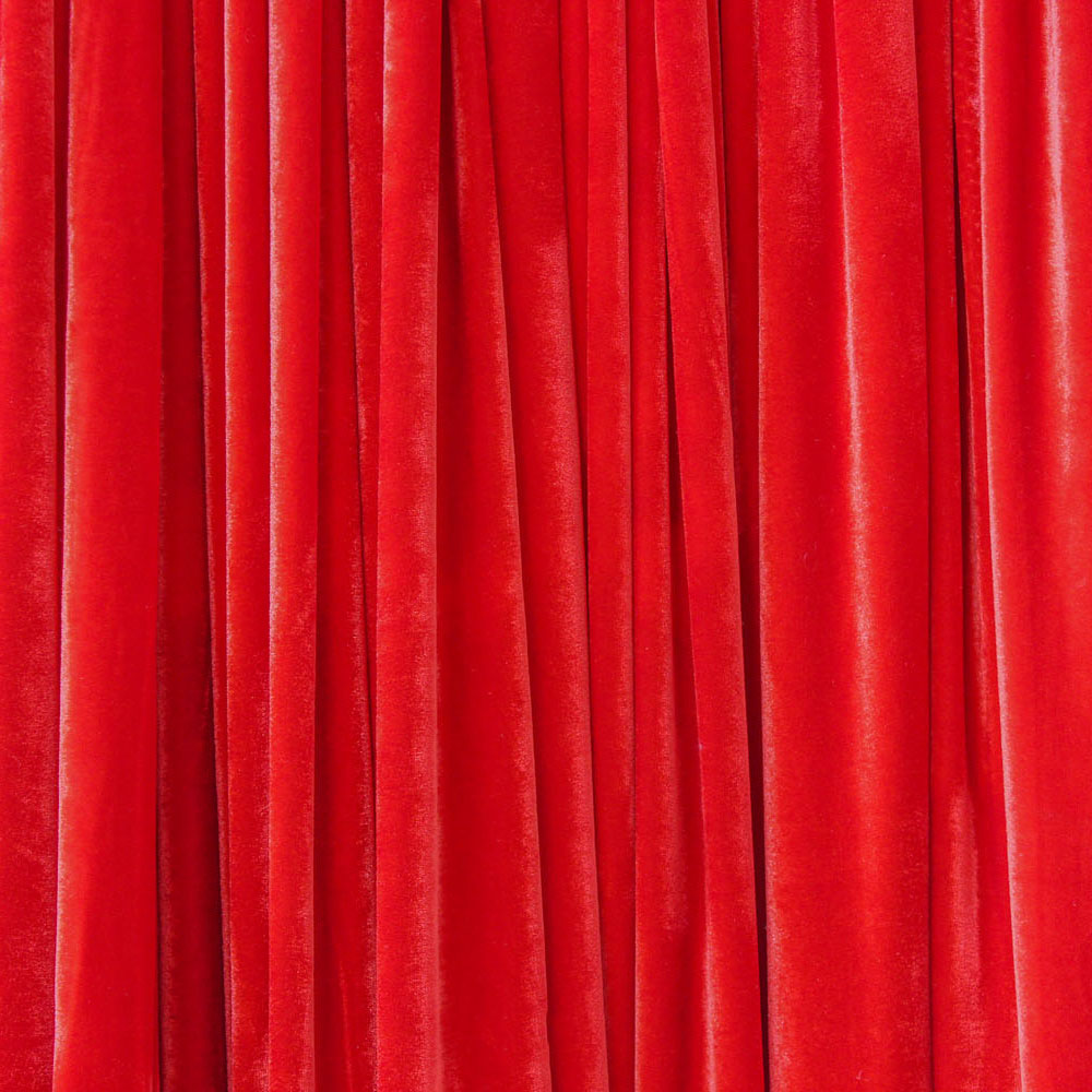 Red Velvet Drape Hire Melbourne