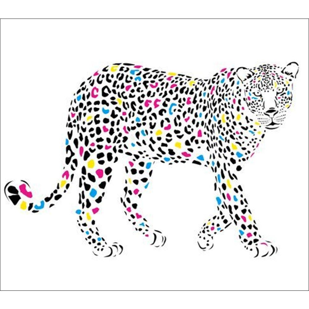 Standard Coloured Cheetah Backdrop Hire Melbourne