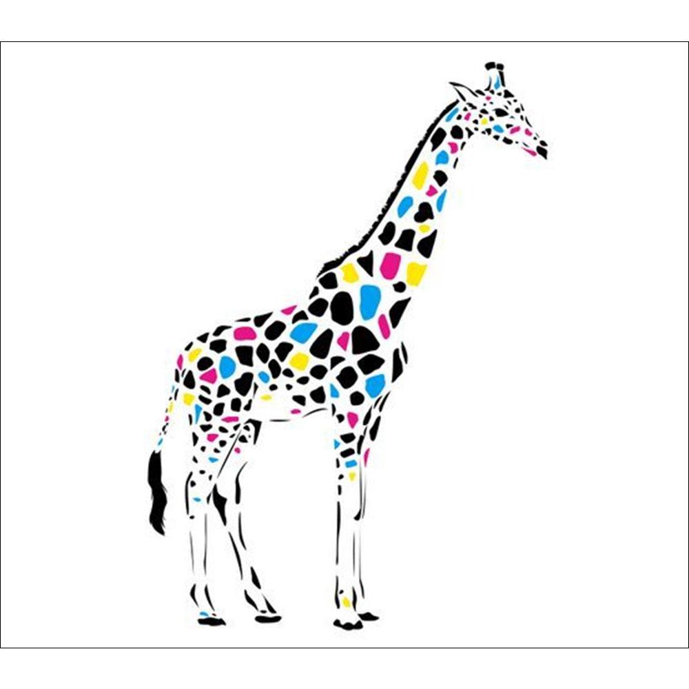 Standard Coloured Giraffe Backdrop Hire Melbourne