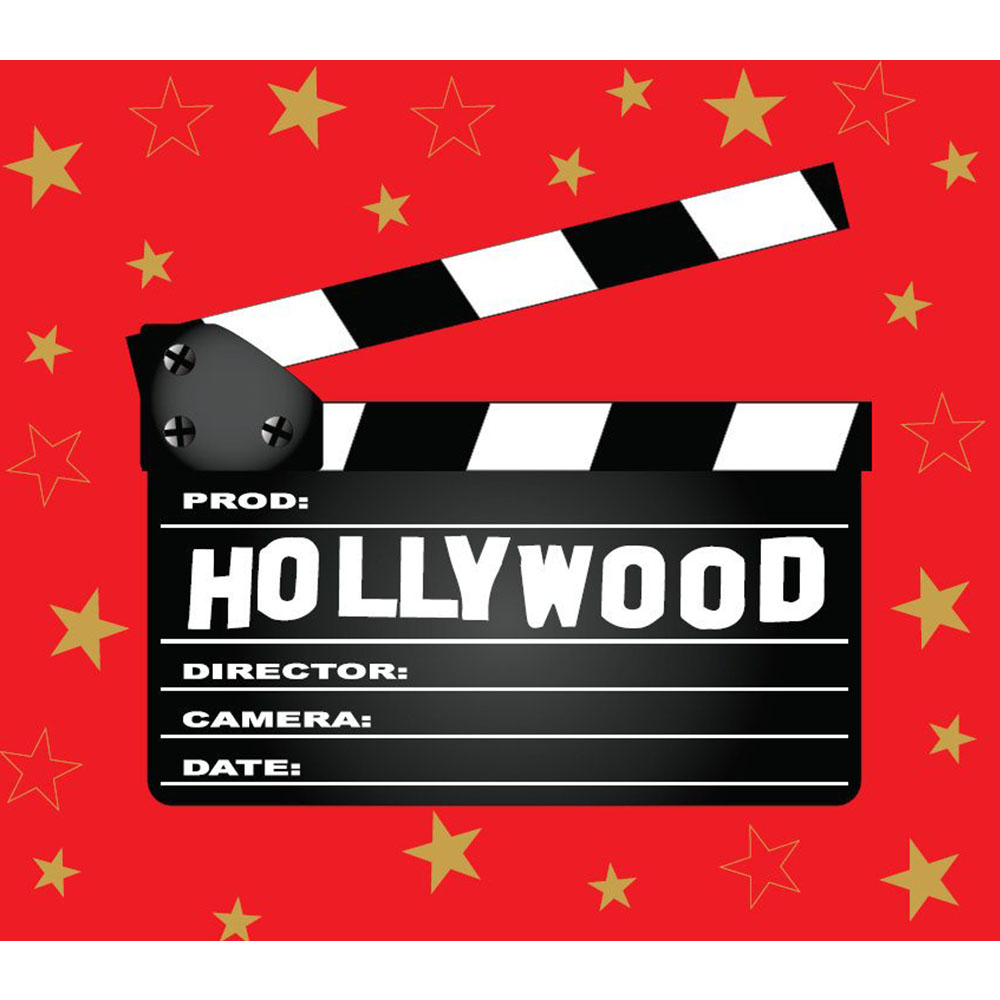 Standard Hollywood Take Board Backdrop Hire Melbourne