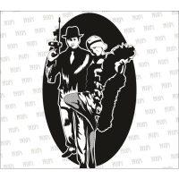 Standard1920s Gangster Backdrop Hire Melbourne