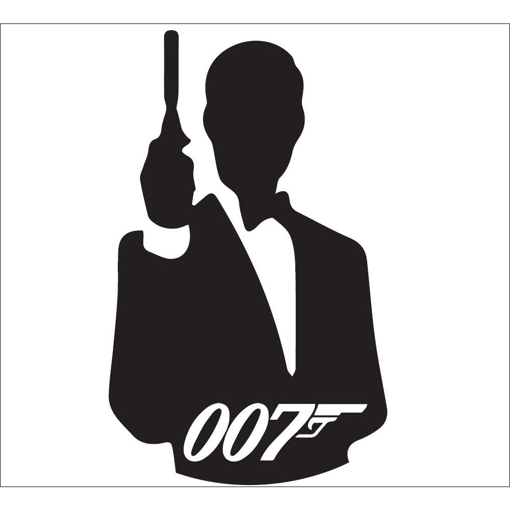 Standard 007 Silhouette (horizontal) Backdrop Hire Melbourne