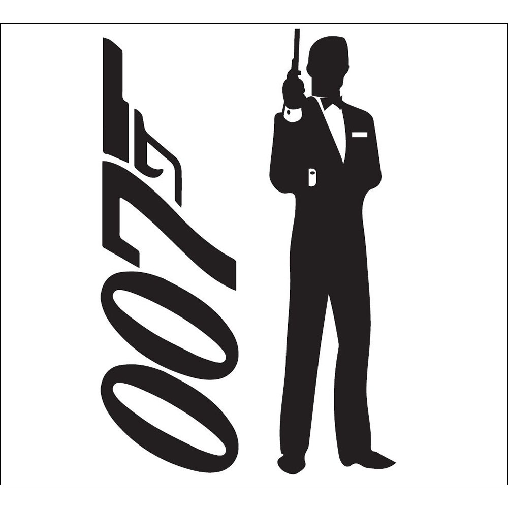 Standard 007 Silhouette (vertical) Backdrop Hire Melbourne