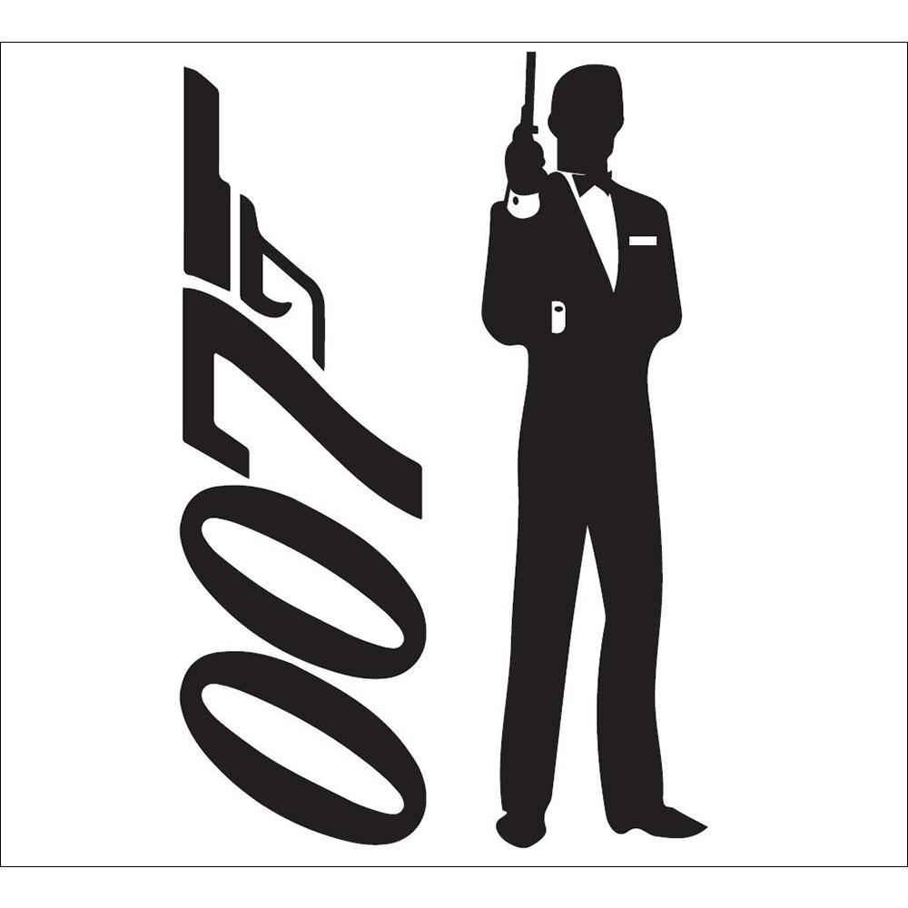 Standard 007 Silhouette (vertical) Backdrop Hire Melbourne