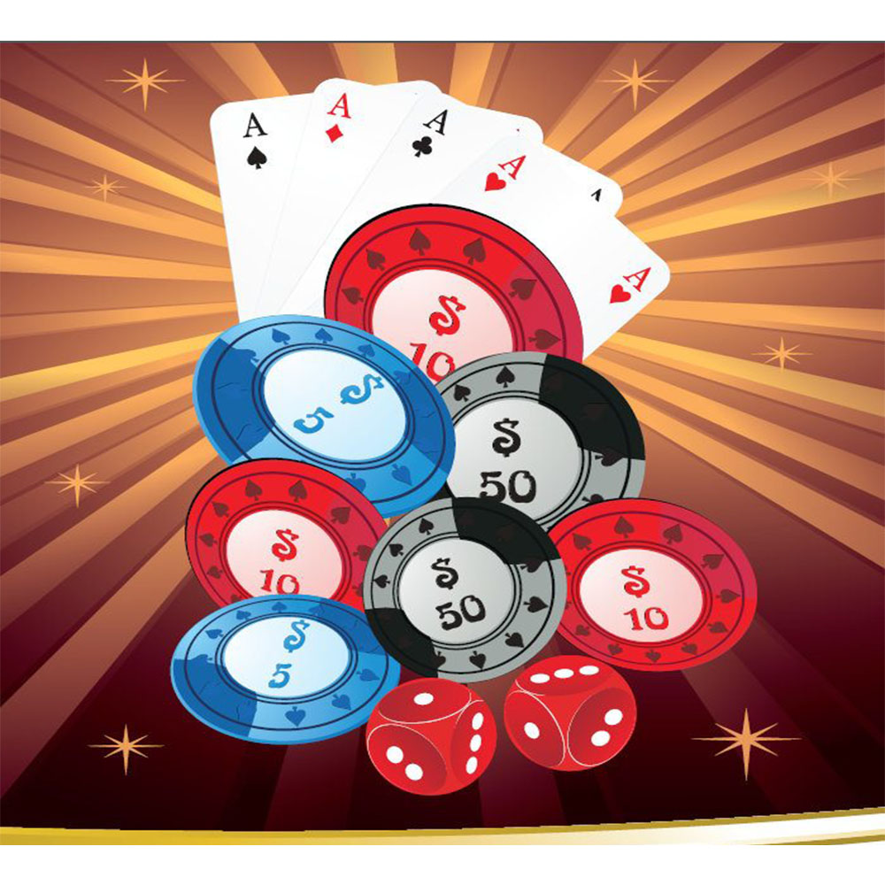 Standard Casino Chips Backdrop Hire Melbourne