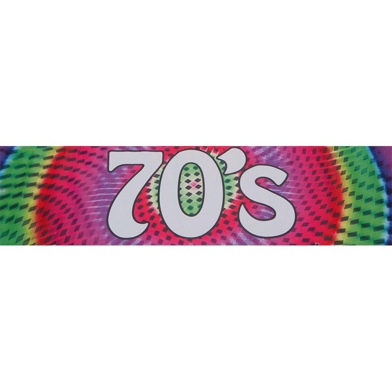 70s Themed Entrance Banner Hire Melbourne