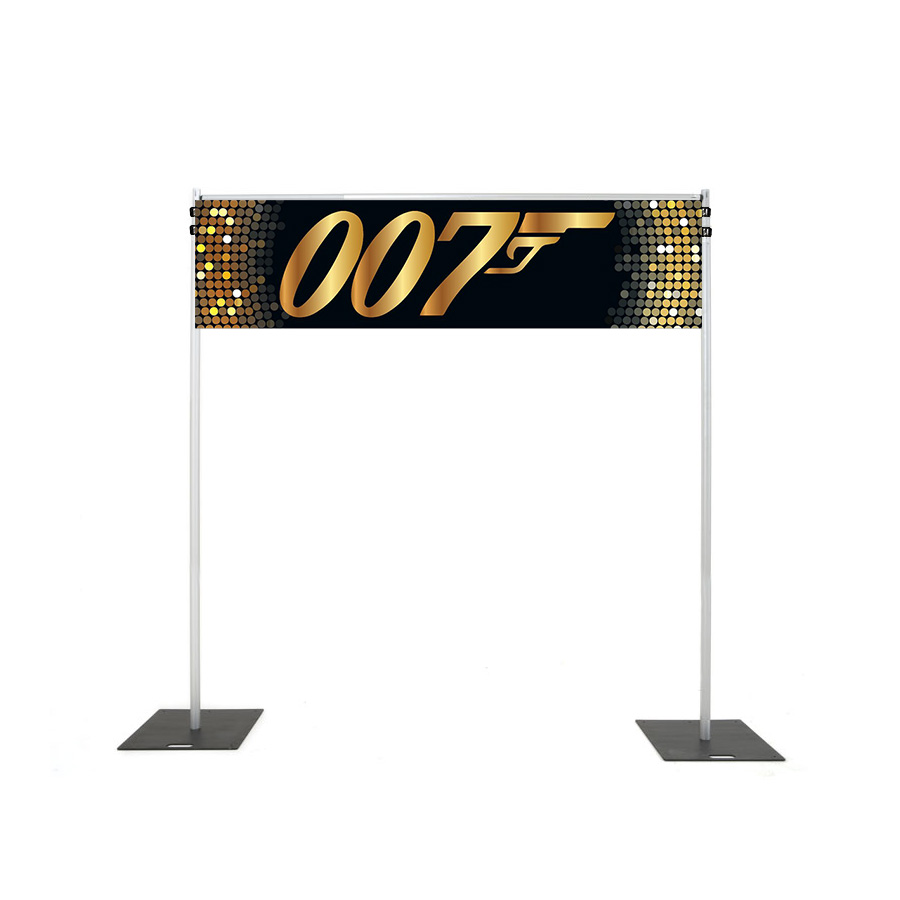 Backdrop Rigging with 007 banner hire melbourne