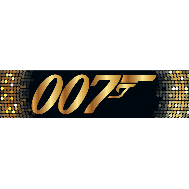 Gold 007 Themed Entrance Banner Hire Melbourne