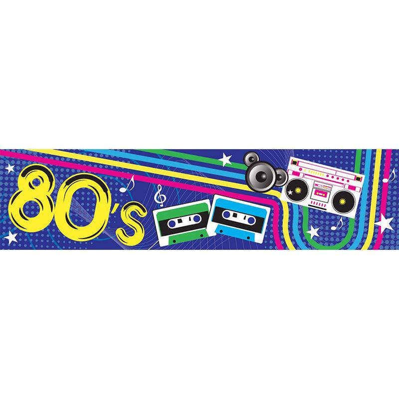 80s Themed Entrance Banner Hire Melbourne