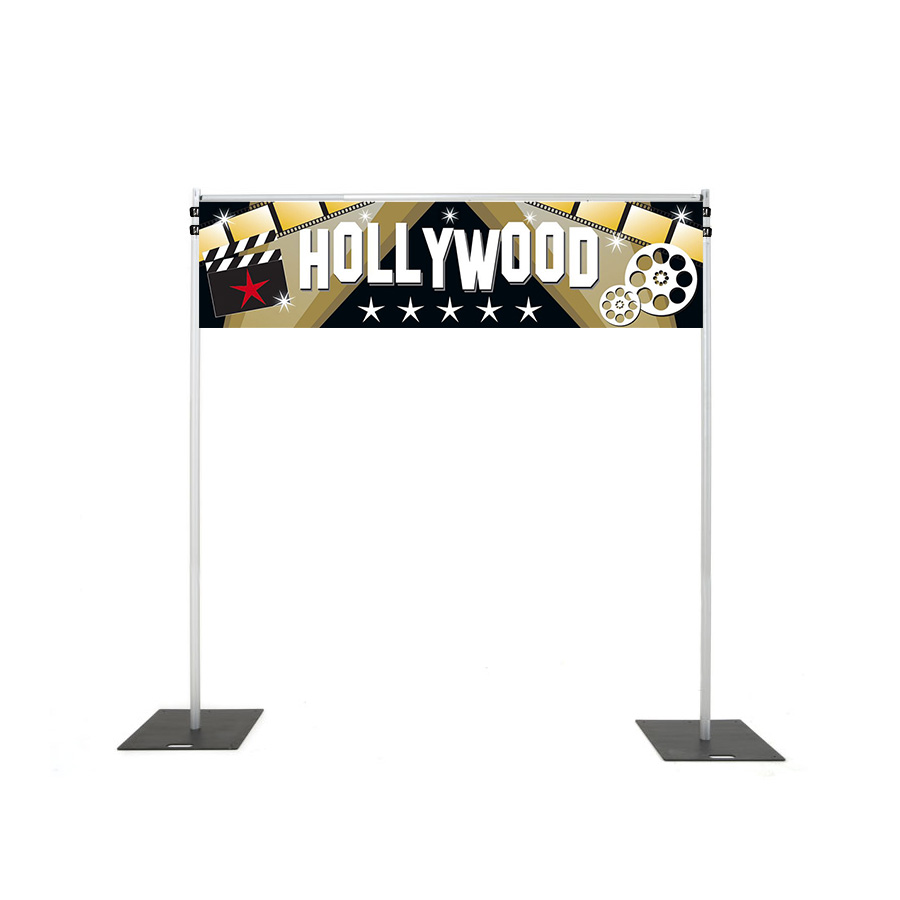 Backdrop Rigging with hollywood banner hire melbourne