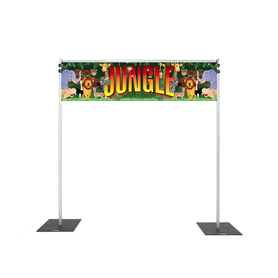 Backdrop Rigging with jungle banner hire melbourne