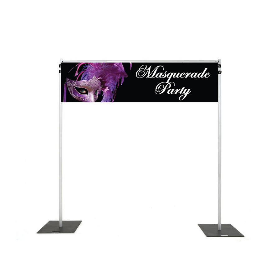 Backdrop Rigging with masquerade banner hire melbourne