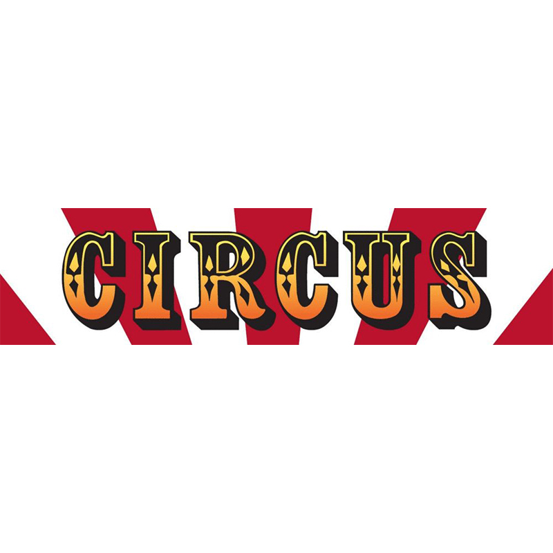 Circus Themed Entrance Banner Hire Melbourne