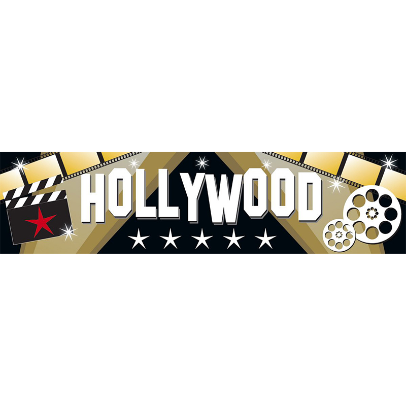Hollywood Themed Entrance Banner Hire Melbourne