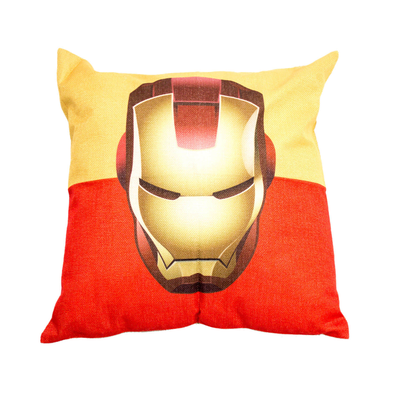 Superhero cushion hire melbourne - Ironman face