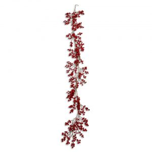 artificial glazed berry garland for hire melbourne
