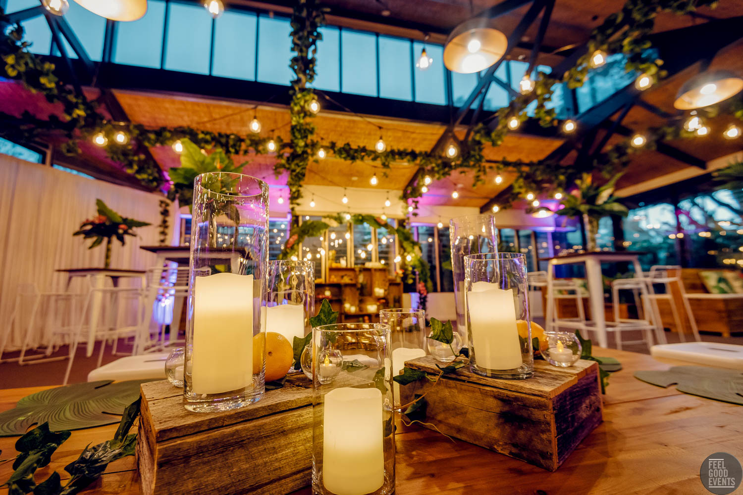 Feel Good Events - Tropical Theme at Melbourne Zoo | Prop Pose