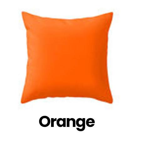 orange cushion