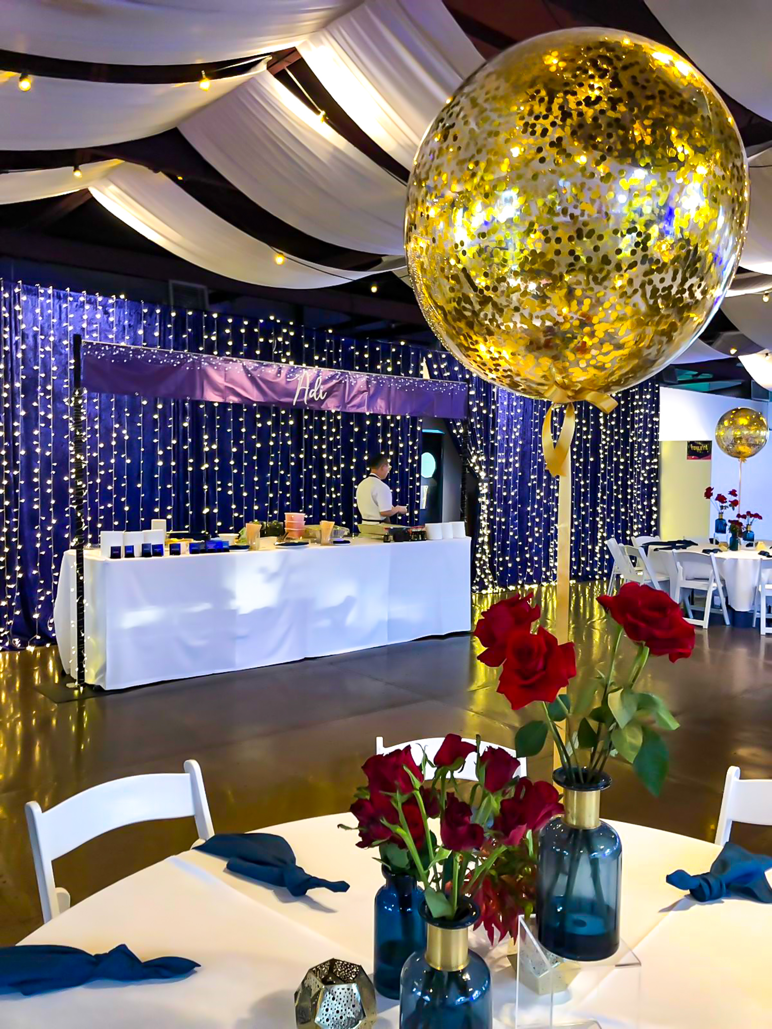 bar mitzvah decorations and furniture hire