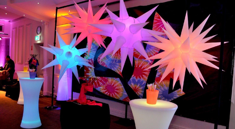 bat mitzvah inflatable prop decorations