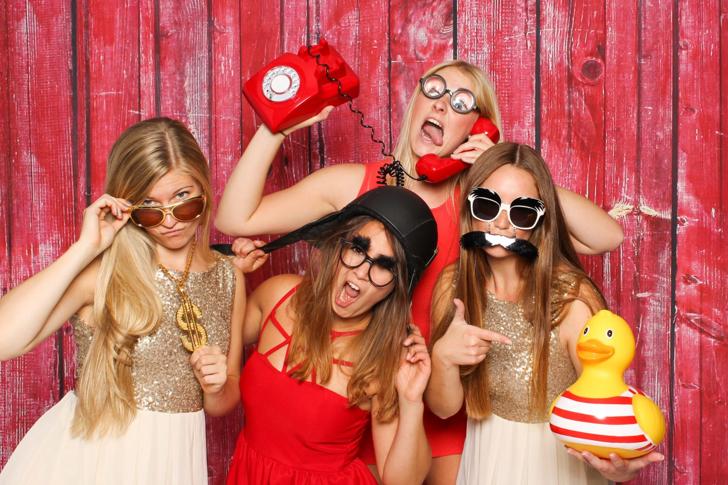 school formal photo booth