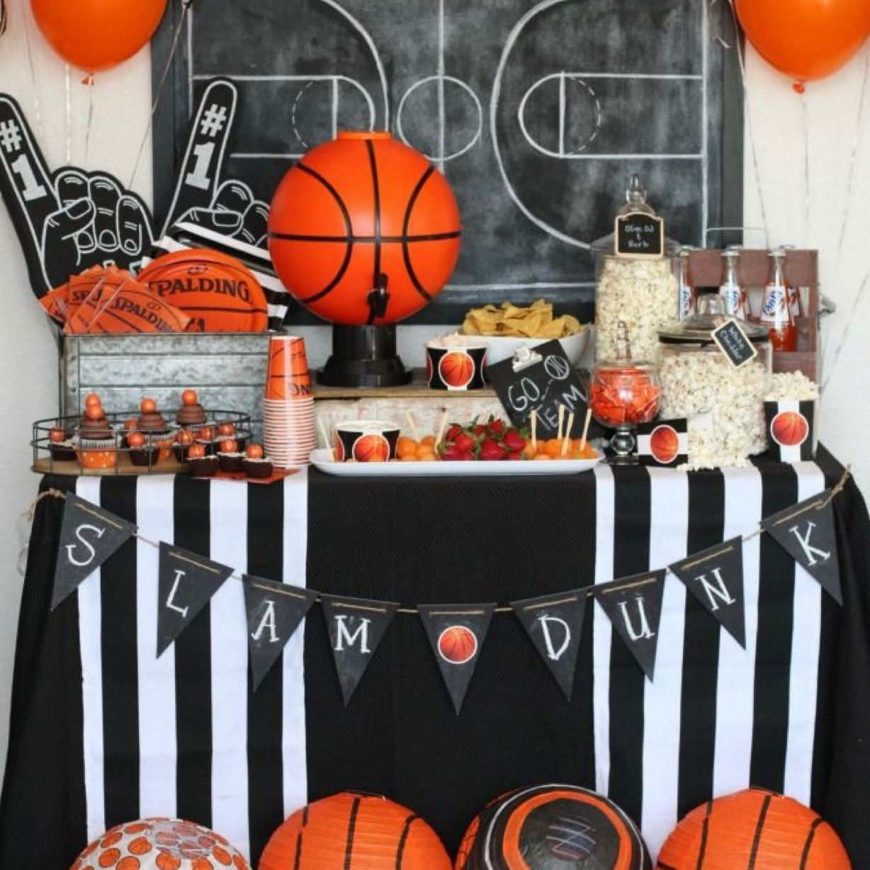 sport party theme