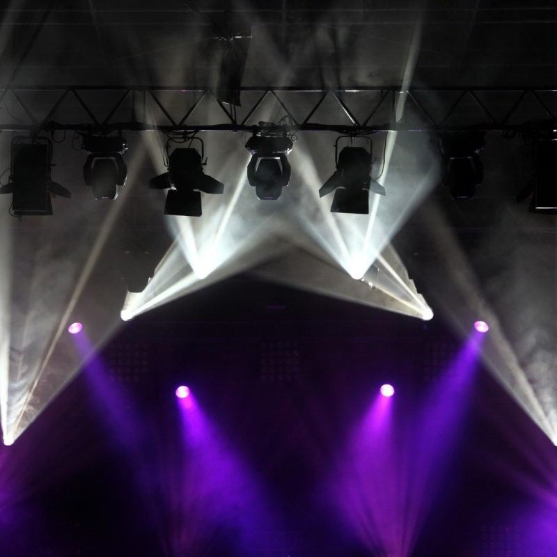 stage lights hire melbourne