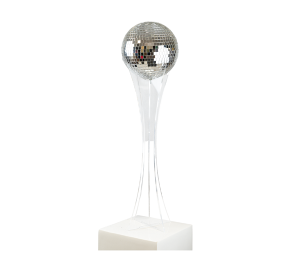 Acrylic Ball Stand with mirror ball